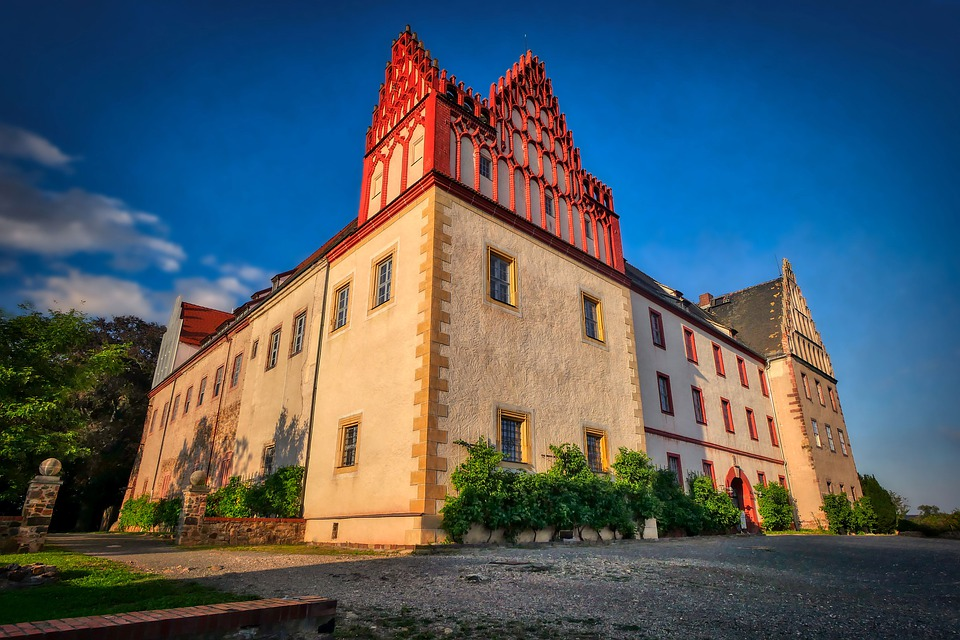 Castle, Architecture, Middle Ages, Building, Germany