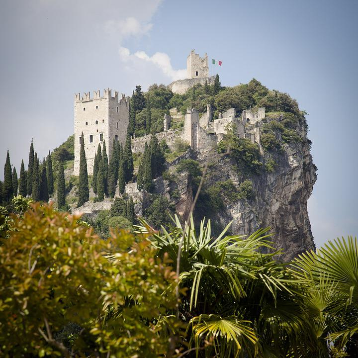 Arco, Italia, Castle