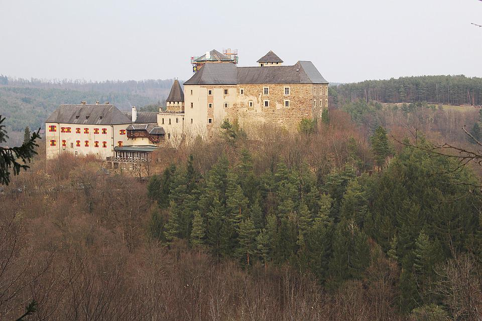 Castle, Attract House, Knight's Castle, View