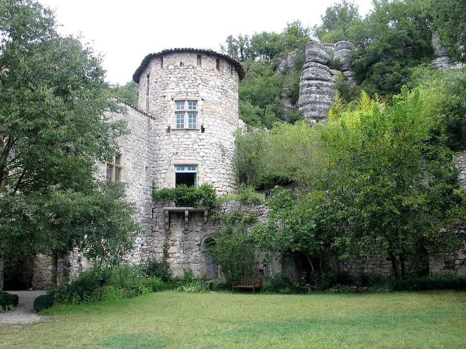 Auvergne, Tower, Castle