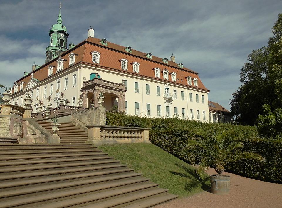 Castle, Castle Lichtenwalde, Barockschloss
