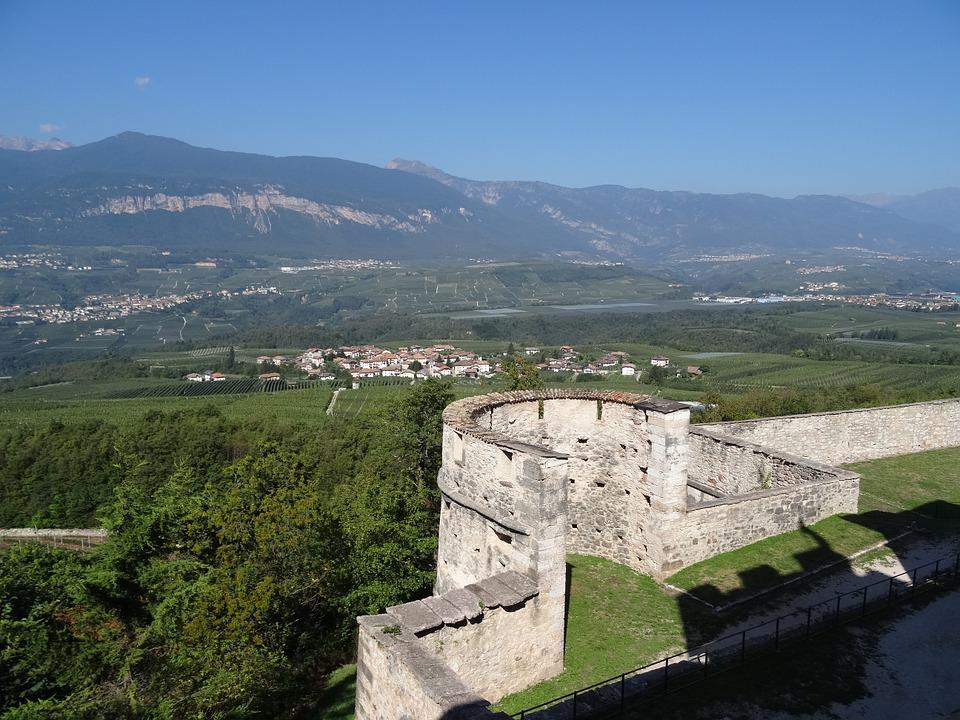 Bastei, View, Valley, Castle, Fortress, Landscape