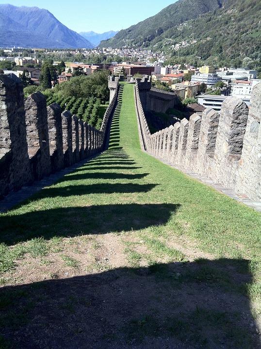 Castelgrande, Bellinzona, Switzerland, Castle, Fortress