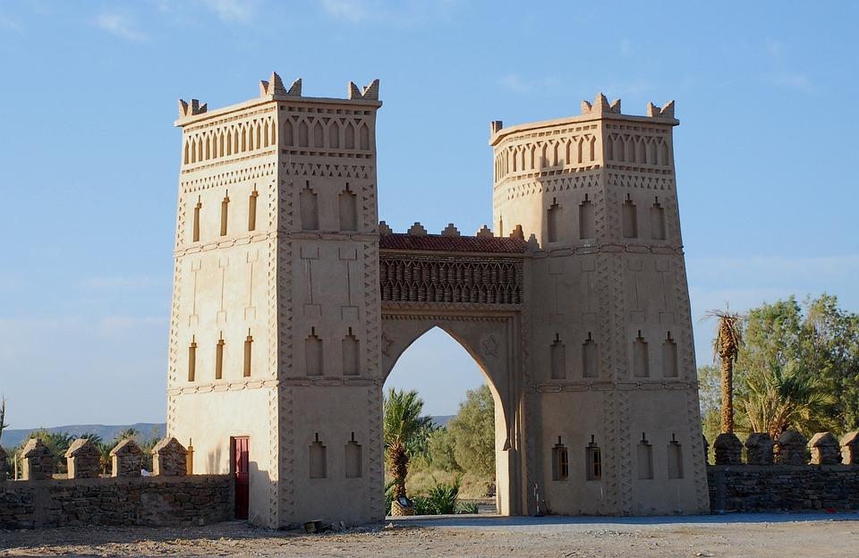 Architecture, Travel, Castle, Building, Tower, Kasbah