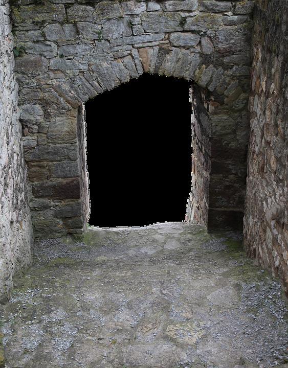 Castle, Historically, Burgruine, Fortress, Castle Wall