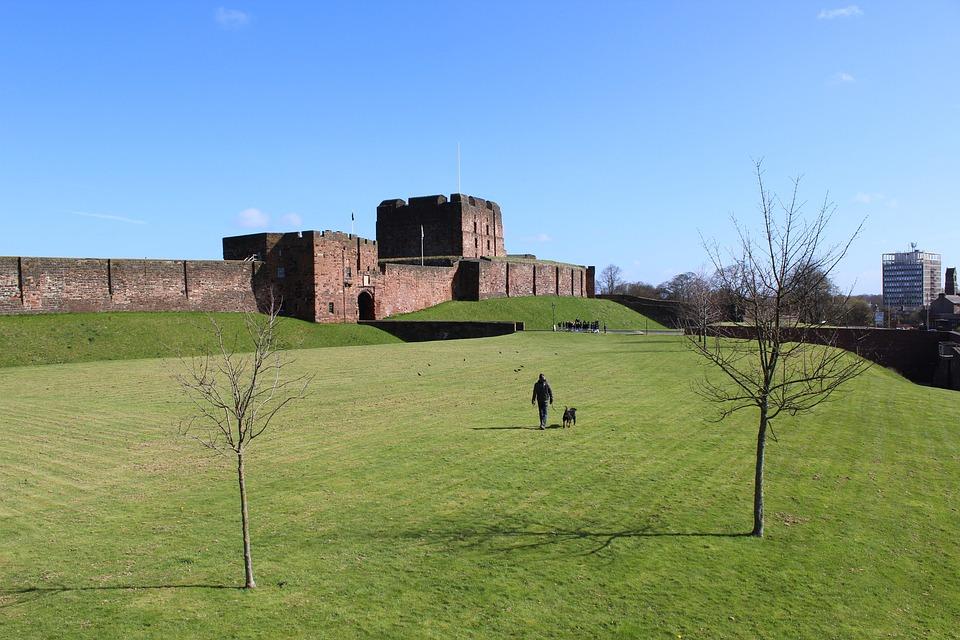 Carlisle, Castle, Cumbria, History