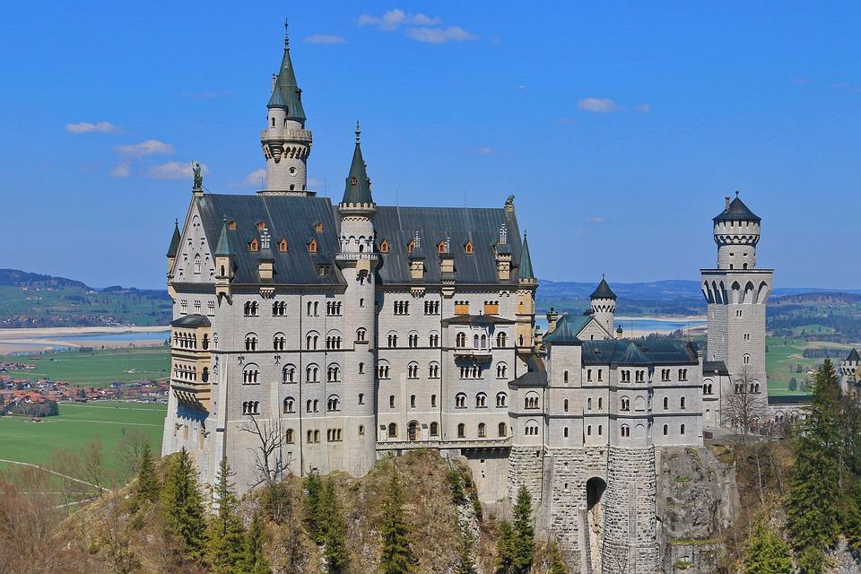 Castle Neuschwanstein, Germany, Castle, Attractions