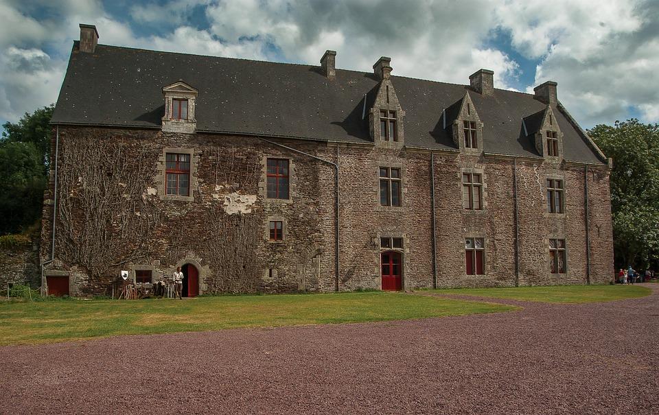 Brittany, Brocéliande, Castle, Comper, Middle Ages