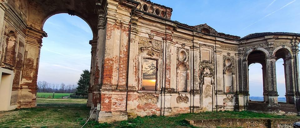 Chignolo, Castle, Facade, Architecture, Construction