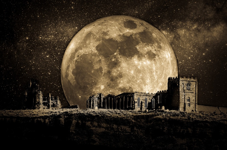 Cosmos, Dark, Darkness, Desolation, Dramatic, Castle