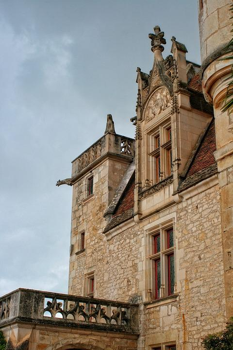 Castle, Périgord, Dordogne, The Milandes
