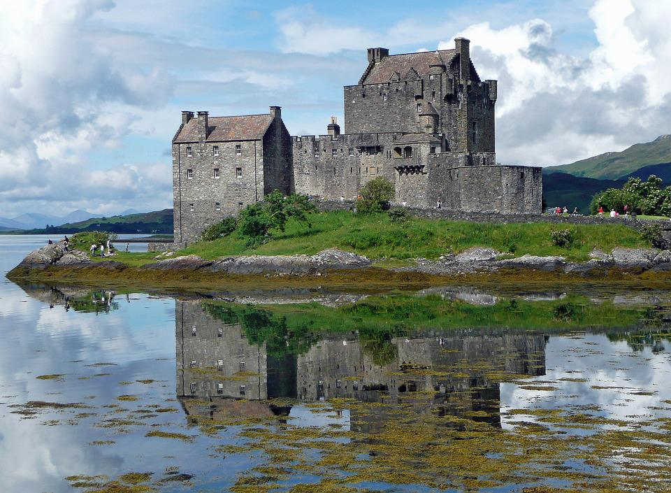 Eilean Donan Castle, Castle, Eilean Donan, Scotland