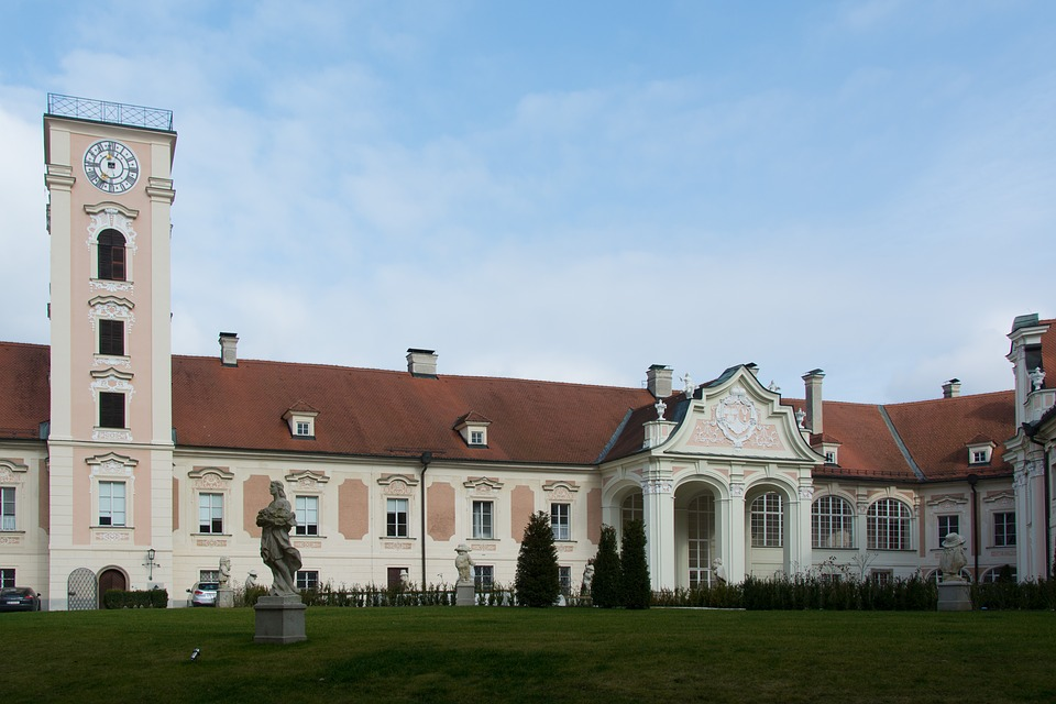 Castle, Building, Lamberg, Architecture, Facade