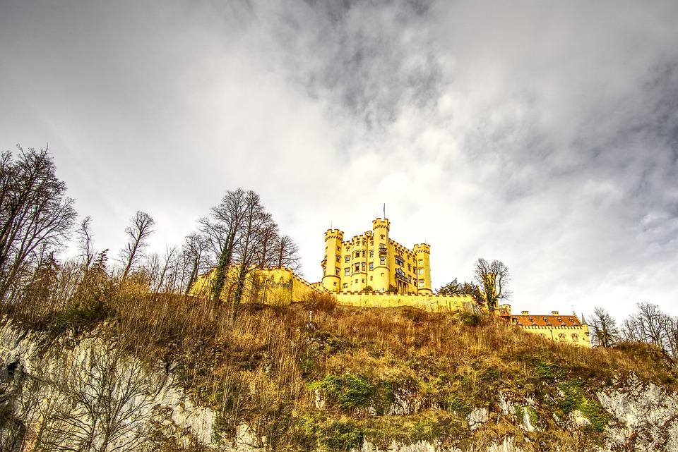Hohenschwangau, Castle, Füssen, Bavaria, Germany