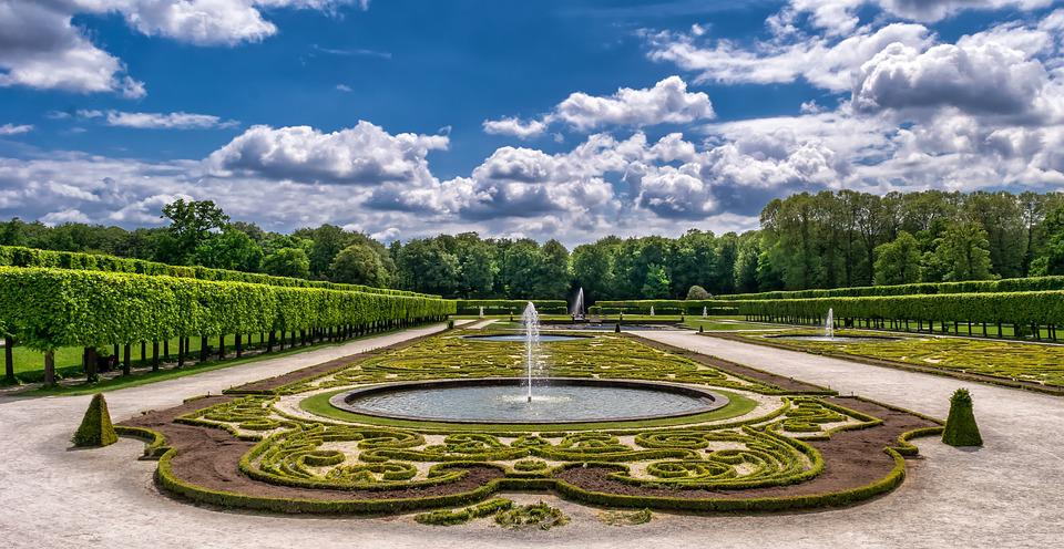 Garden, Park, Castle, Art, Horticulture, Baroque