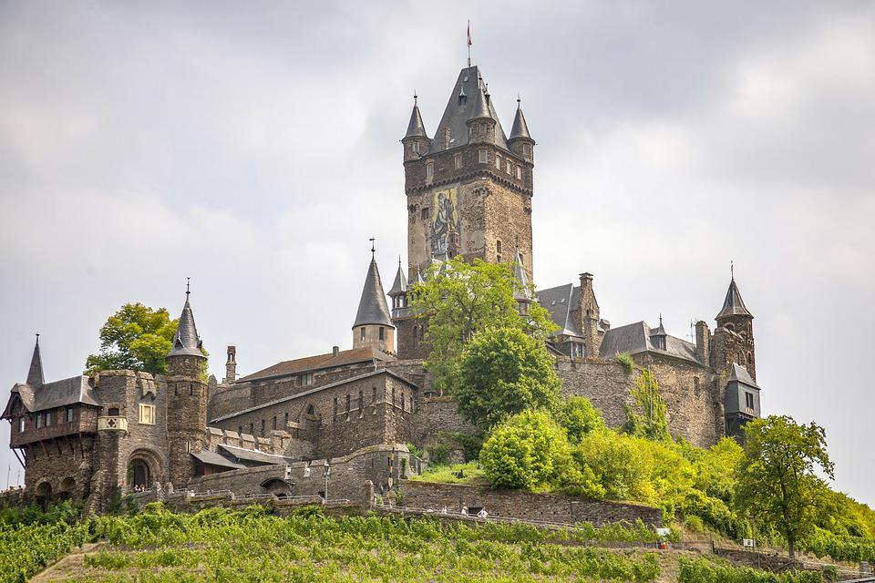 Castle, Mosel, Building, Historically, Germany