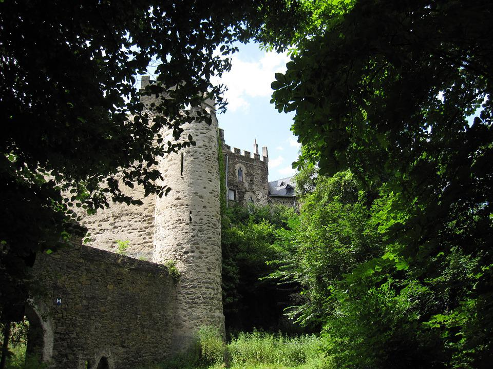 Germany, Castle, Architecture, Old
