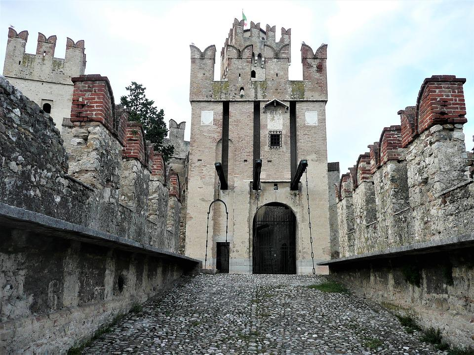 Architecture Gothic Palazzo Old Stones Castle