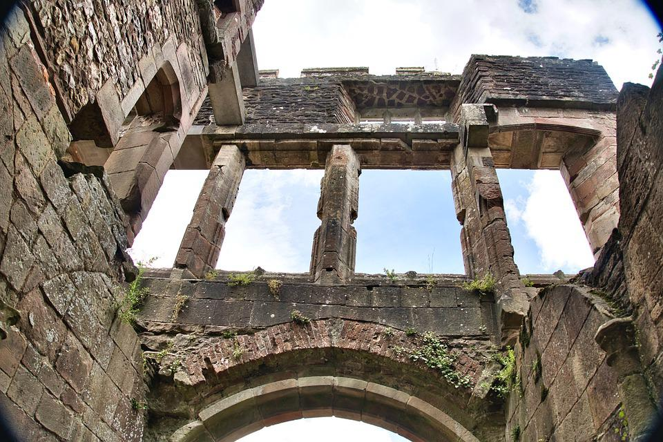 Ruins, Castle, Architecture, Historic, Landmark