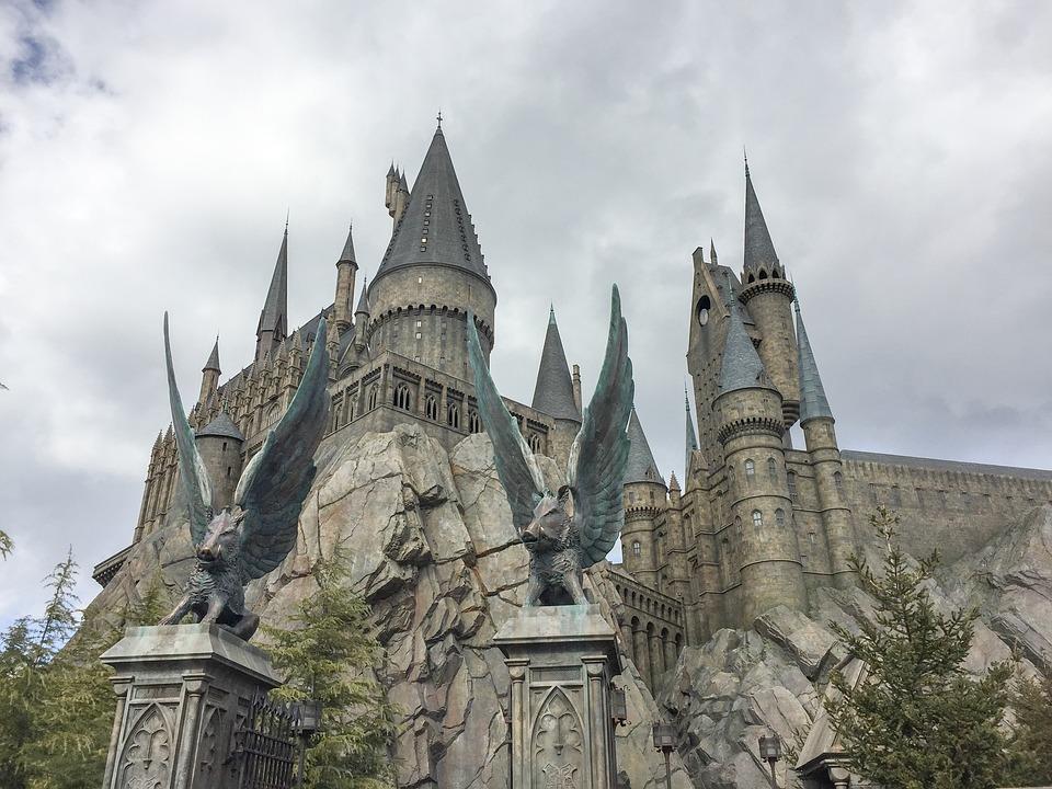 Hogwarts Castle, Hogwarts, Castle, Harry Potter, Osaka
