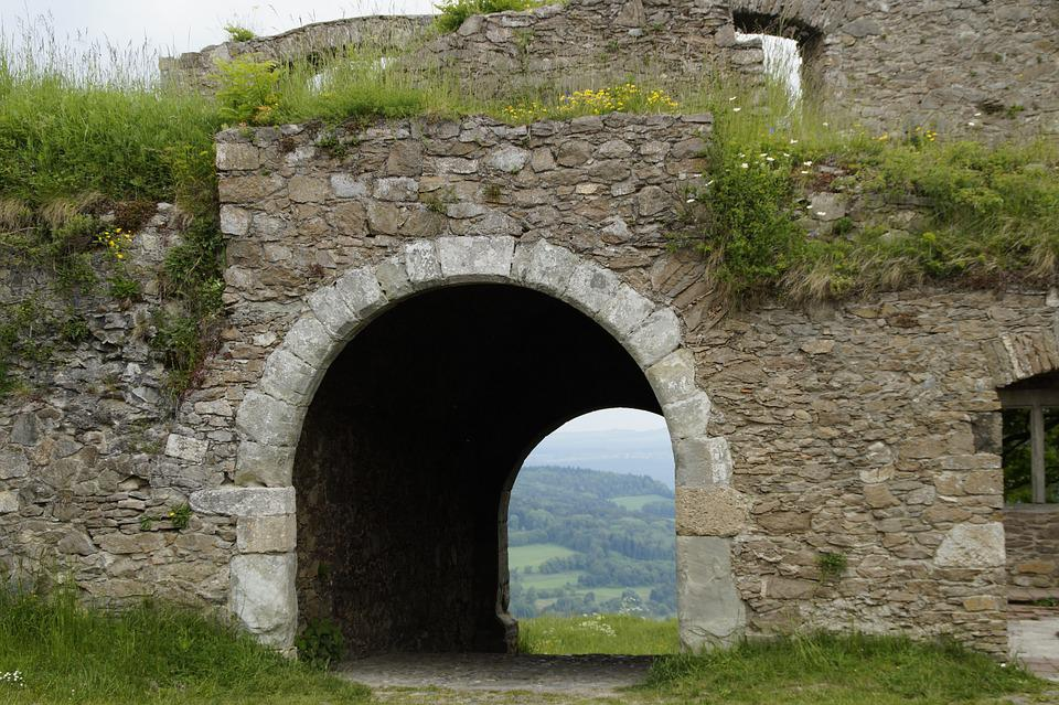 Castle, Ruin, Middle Ages, Hohentwiel, Hegau