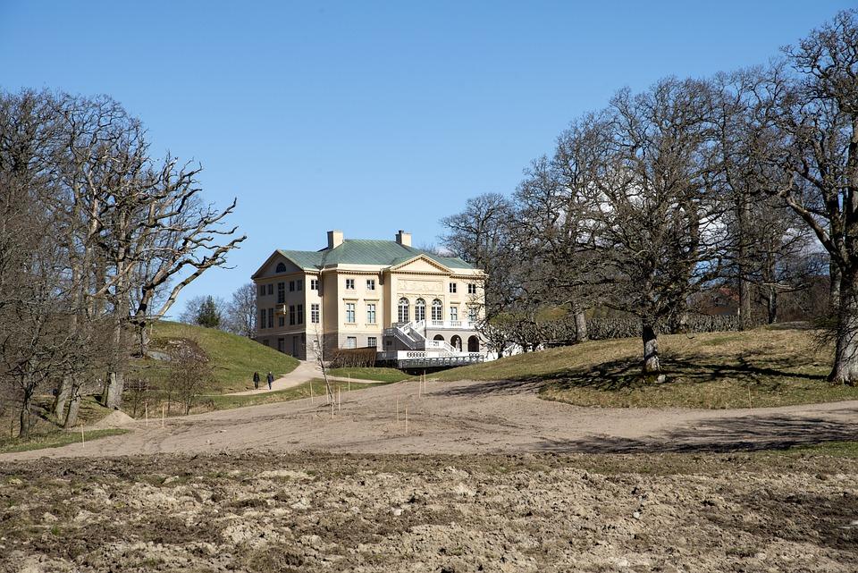 Castle, Garden, Architecture, Building, Park, House
