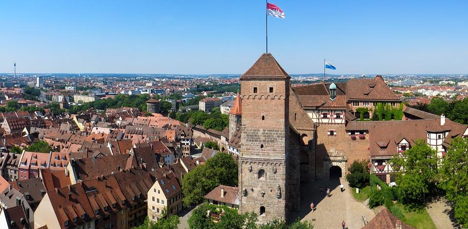 Nuremberg, Castle, Imperial Castle, Middle Ages