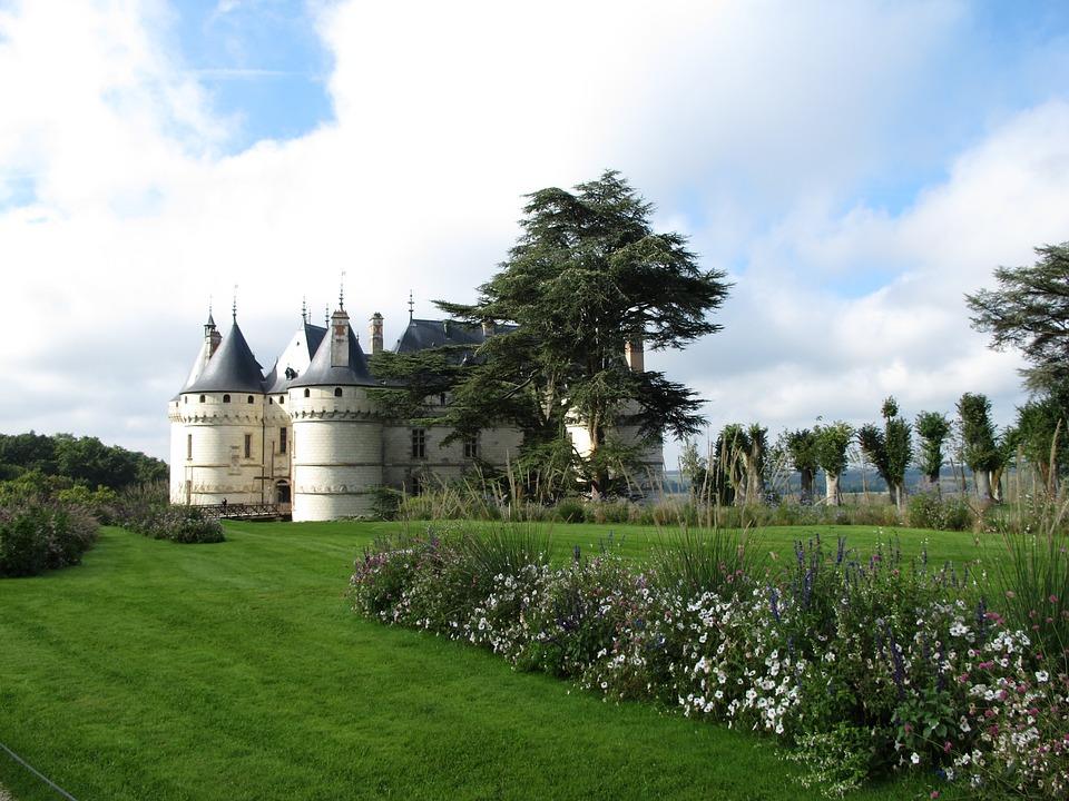 Domaine De Chaumont, Loire, Castle In France