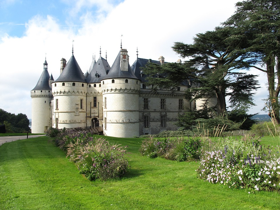 Domaine De Chaumont, Loire, Castle In France