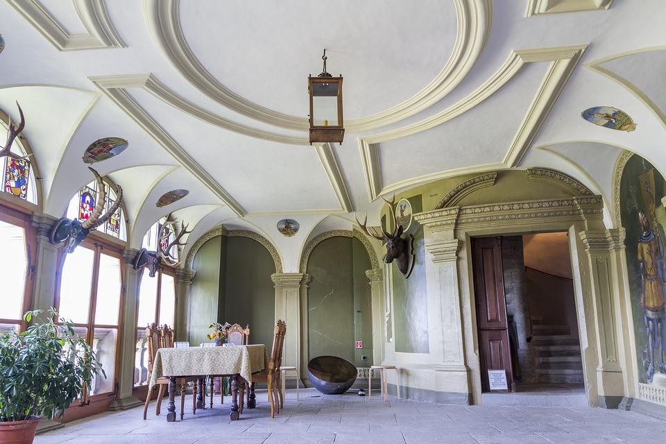 Castle, Interior, Wildegg, Palace, Architecture