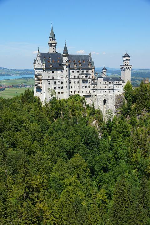 Kristin, Castle, Forest, Germany, Füssen, King Ludwig