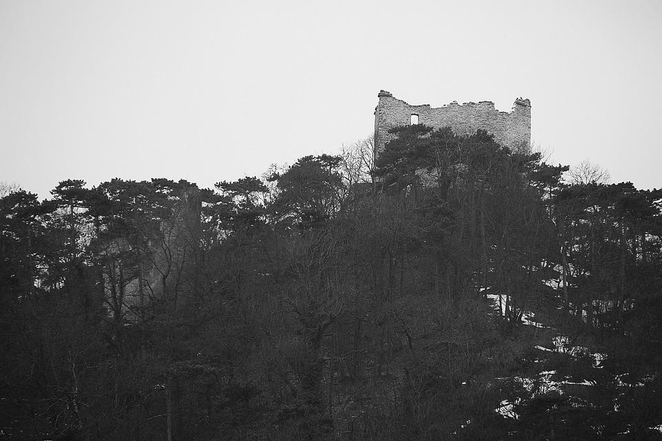 Castle Of Mödling, Castle, Knight's Castle, Middle Ages