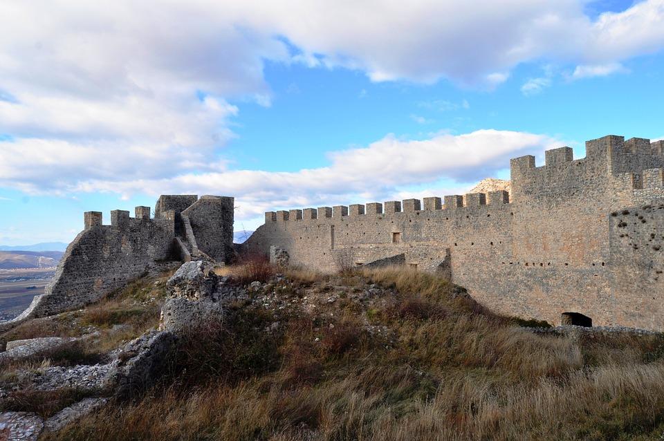 Mostar, Castle Kosaca, Bosnia And Herzegovina, Historic