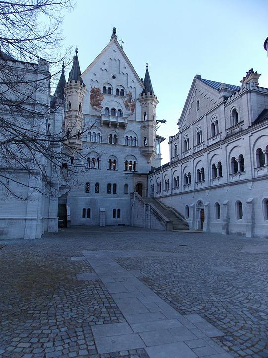 Neuschwanstein Castle, Castle, Fairy Castle, Kristin