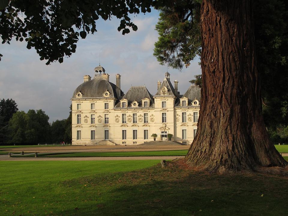 Domaine De Cheverny Loire, Castle, France, Loire