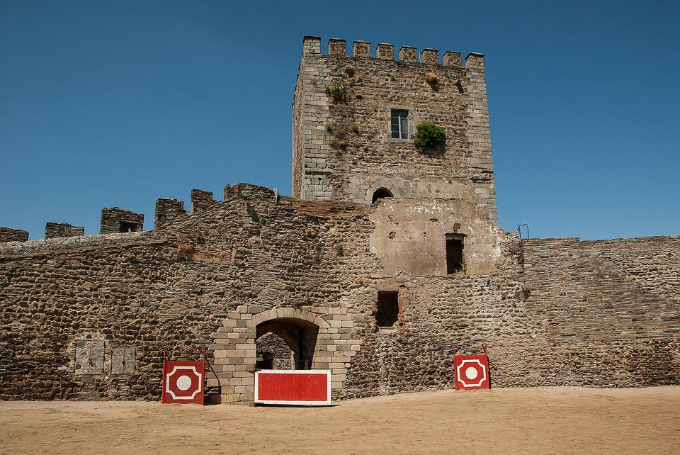 Portugal, Castle, Medieval, Fortress, Keep