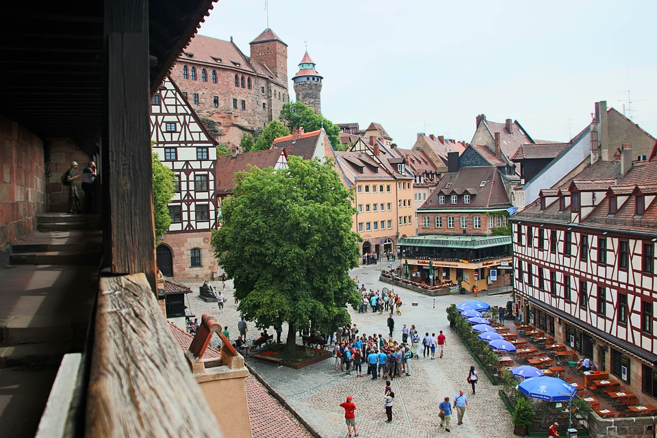 Nuremberg, Old Town, Castle, Middle Ages