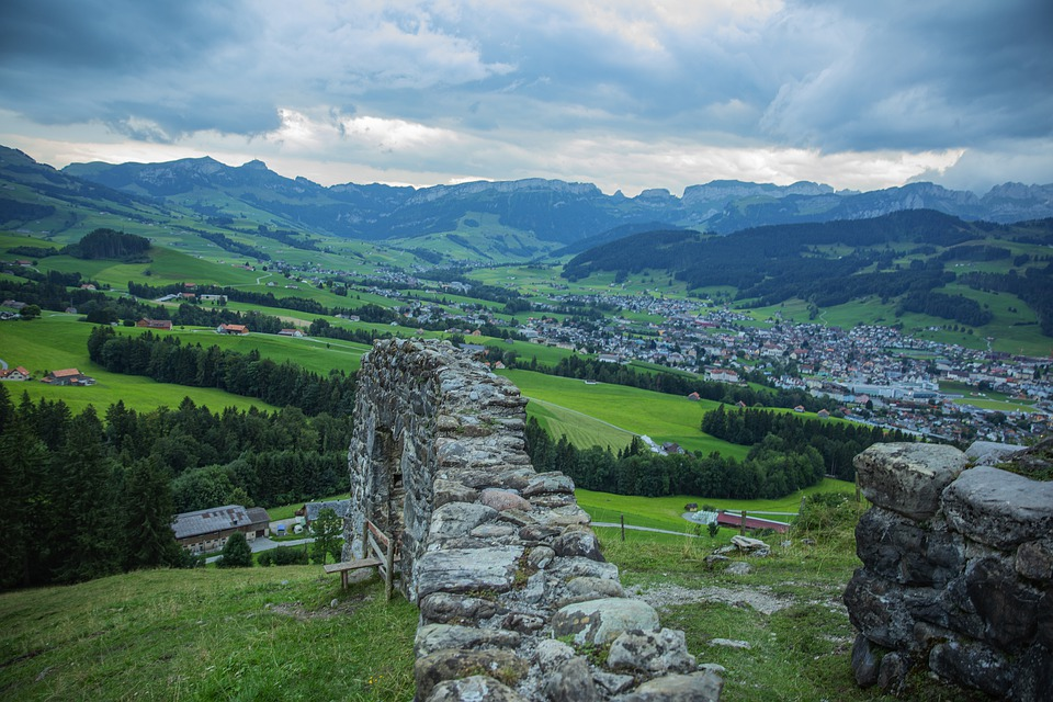 Castle, Forest, Nature, Landscape, Germany, Sky