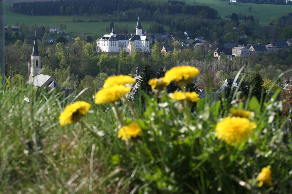 Neuhausen, Ore Mountains, Castle, Pursche Stone