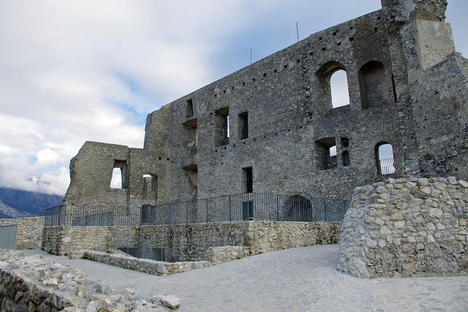 Morano, Castle Of Morano, Calabria, Pollino