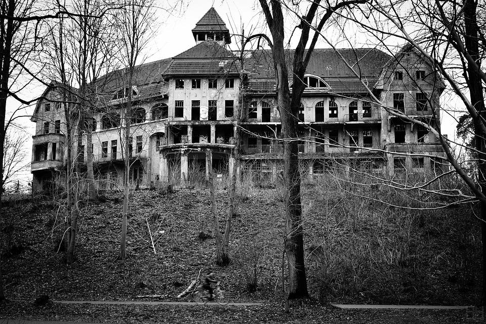 Castle, Old, Gloomy