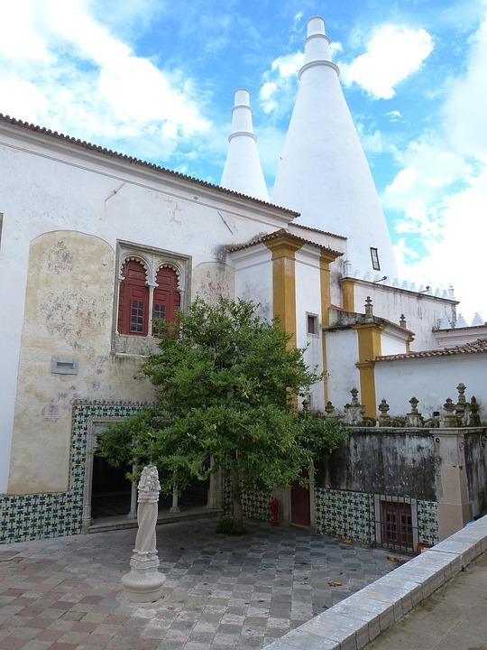 Sintra, Portugal, Palace, Castle, Building