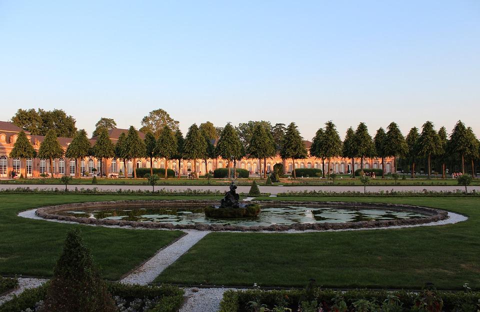 Schwetzingen, Castle, Castle Park, Schlossgarten
