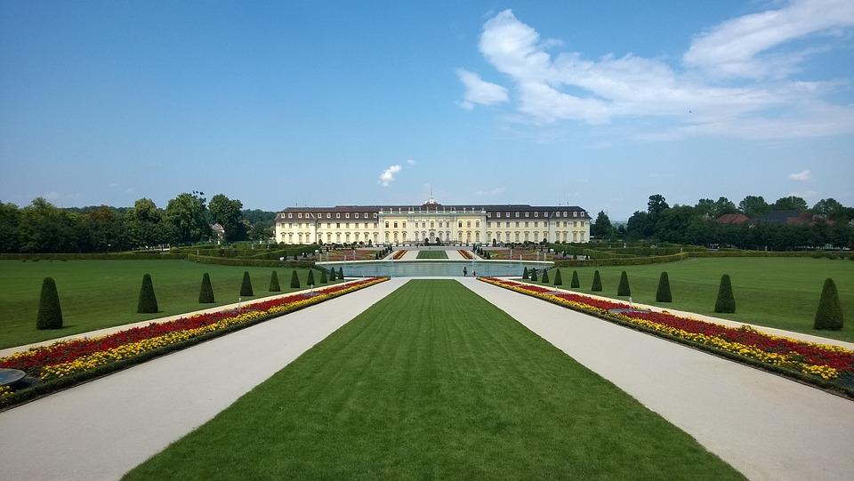 Castle, Ludwigsburg Germany, Park