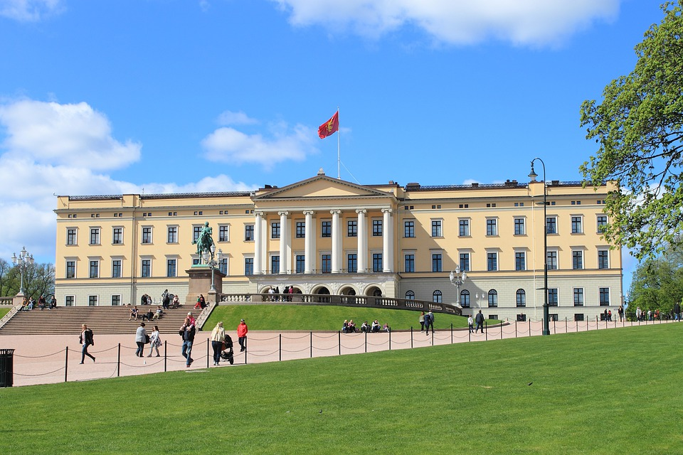 Oslo, Norway, King House, Castle Park