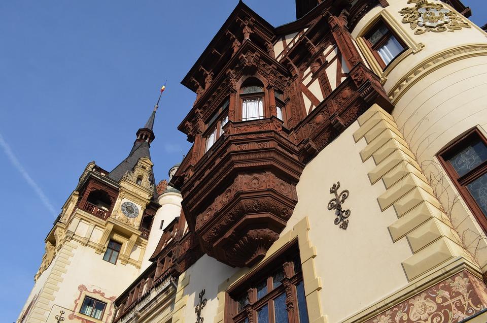 Castle, Peles, Sinaia, Architecture, Museum, Historic