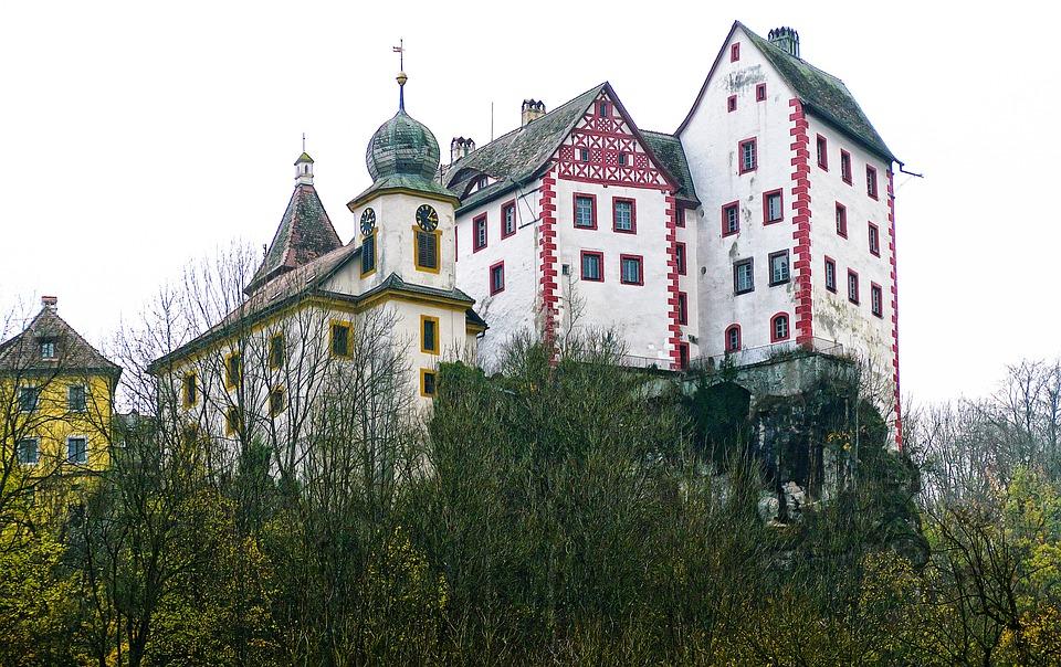 Castle, Eggloffstein, Castle Castle, Places Of Interest