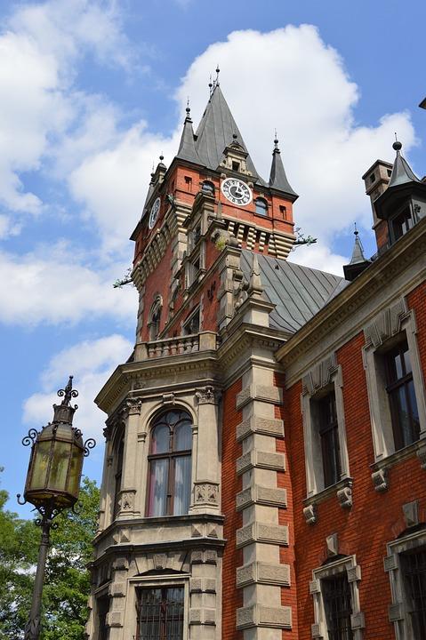 Pławniowice, Poland, Castle, Architecture, Tower