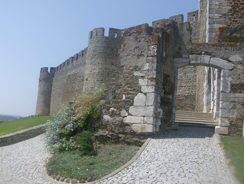 Castle, History, Portugal, Ruins, Summer, Trail, Entry
