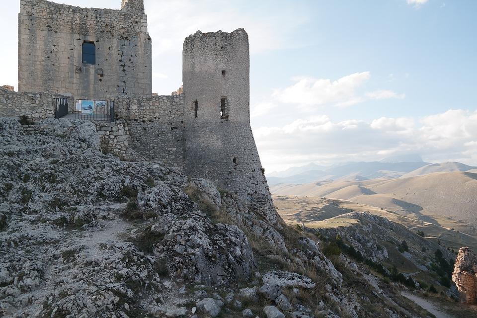 Rocca Calascio, Castle, Walls, Abruzzo